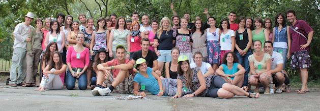 Photo: A Tisza (ifi) altábor résztvevői