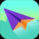 紙飛行機撮影 - Androidアプリ