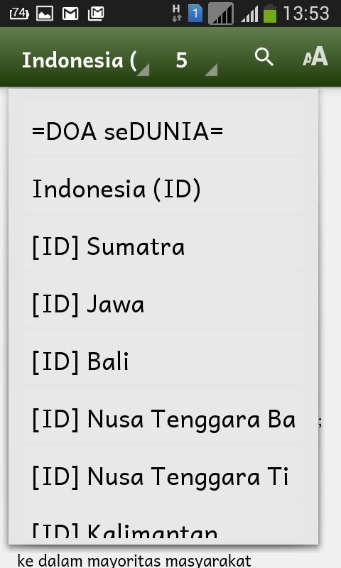 Doa seDunia -- Operation World- screenshot