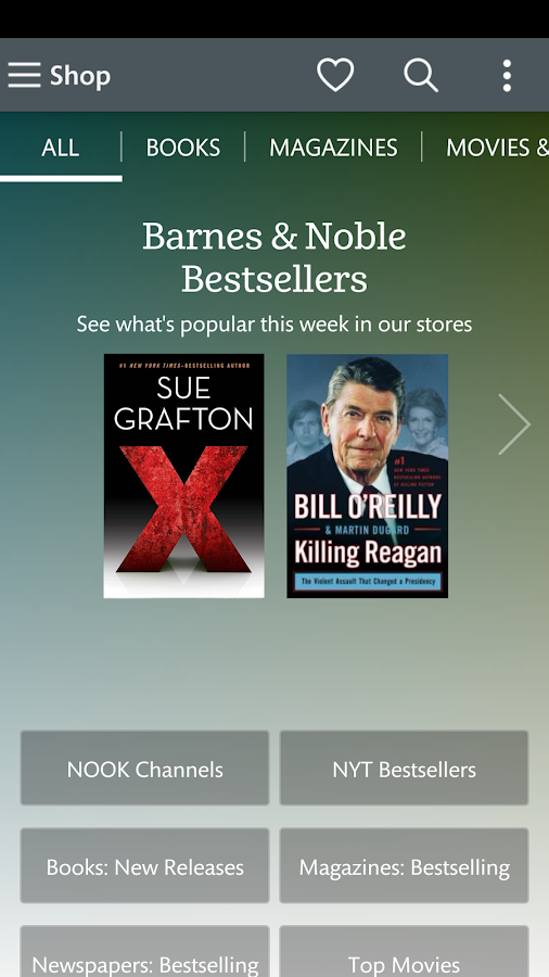 Screenshots of NOOK: Read eBooks & Magazines for iPhone