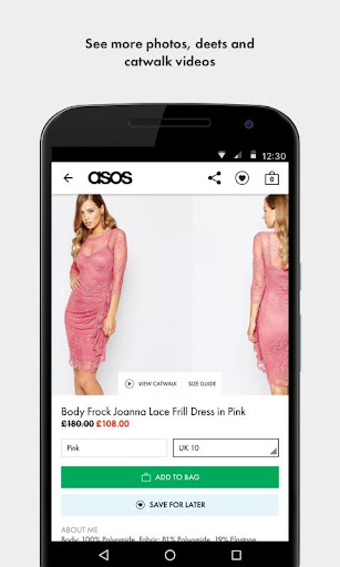 ASOS screenshot 2