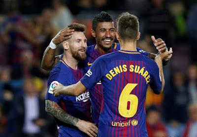 L'Inter cale, le Barça, avec un Messi intraitable, est en bien meilleure forme