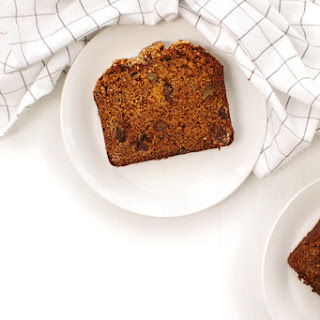 Pumpkin Bread with Chocolate and Ginger.