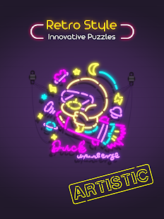 Neon It! - 3D Light Art Puzzle Screenshot