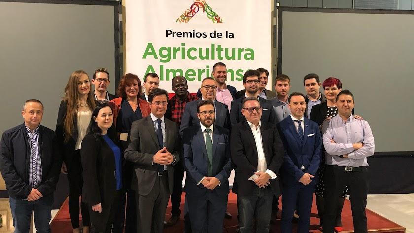 Biorizon Biotech ha sido galardonada con el premio al Compromiso Tecnológico en los VI Premios de la Agricultura Almeriense.