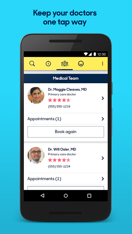 Zocdoc: Find & book a doctor- screenshot