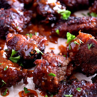 Barbeque Beef Bites.