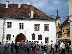 Photo: Mátyás király szülőháza Kolozsváron