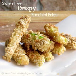 {Gluten Free} Crispy Zucchini Fries - Two Ways