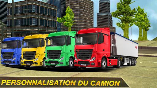 Rapide Camion Chauffeur Simulateur: Hors route  captures d'écran 2