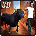 Crazy Angry Bull Revenge 3D icon