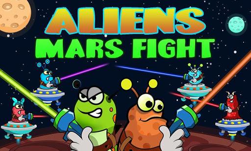 Aliens Mars Fight 1.0 screenshots 5