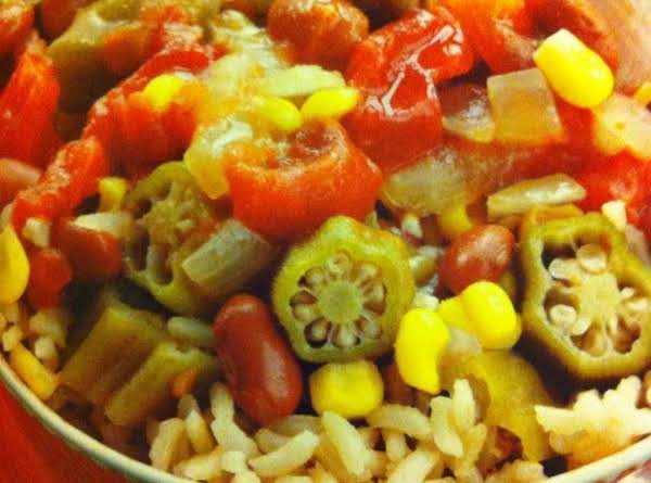 Slow-cooker Cajun Succotash
