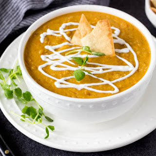 Curried Yellow Split Pea Soup.
