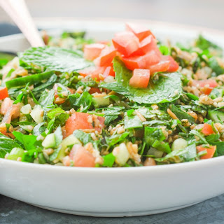 Wheat Berry Tabbouleh Salad