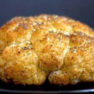 Whole Roasted Cauliflower with Za'atar.