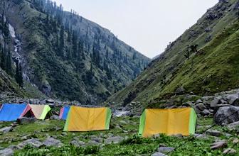 Photo: Camp 2 at Rehla