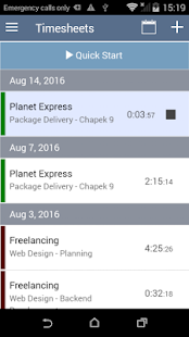Log My Hours - Time Tracking Screenshot
