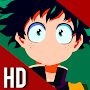 Boku Hero Academia Wallpaper HD APK icon