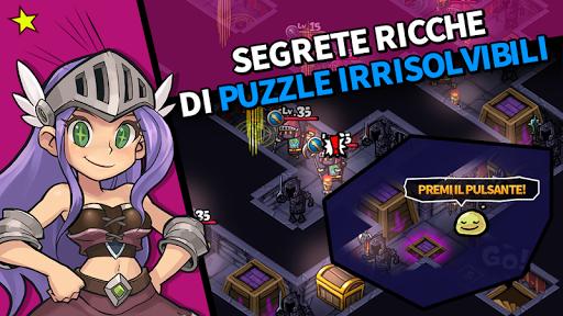 Guerrieri SbamBam - Puzzle RPG  άμαξα προς μίσθωση screenshots 1