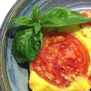 Cheesy Artichoke Oven Omelet