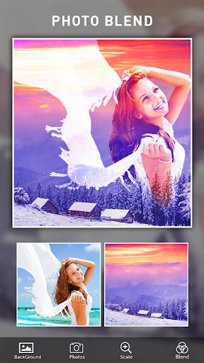 Photo Blend cam: Auto photo mixer blender merger 1.4 screenshots 12
