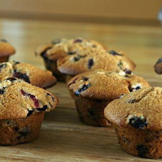 Blythe Danner's Blueberry Muffins.