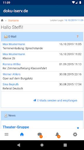 IServ  screenshots 1