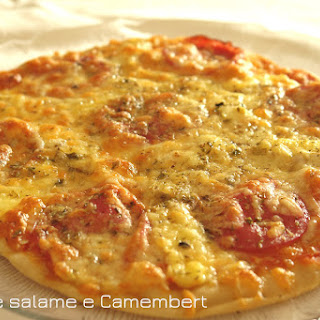 Salami and Camembert Pizza Recipe