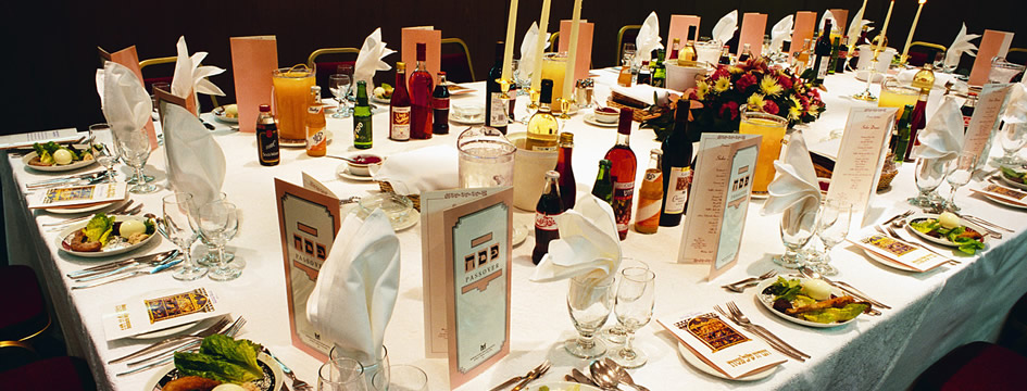 Passover Seder Table!