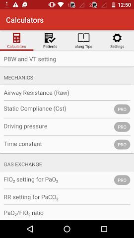 android xlung assist Screenshot 2