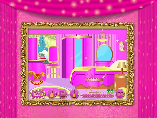 Princess Room Cleaning Games - screenshot