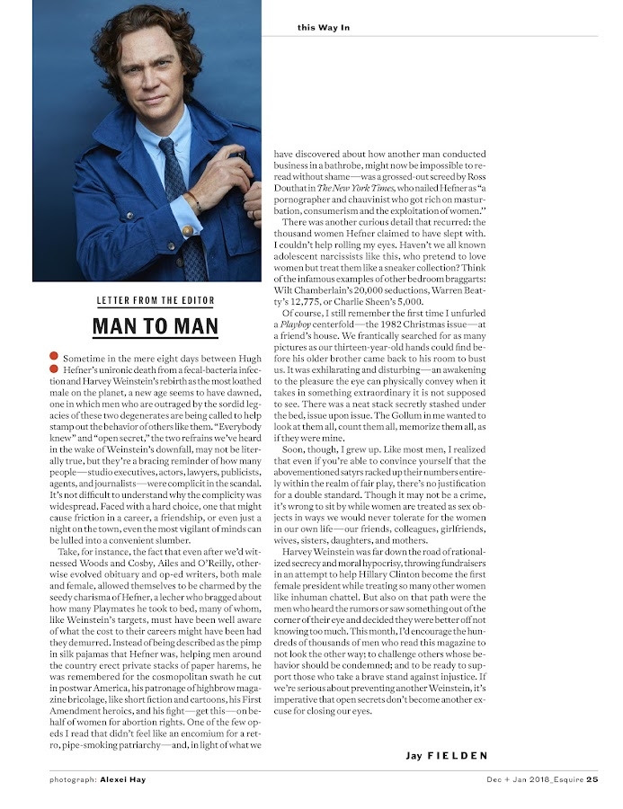 Esquire Magazine- screenshot