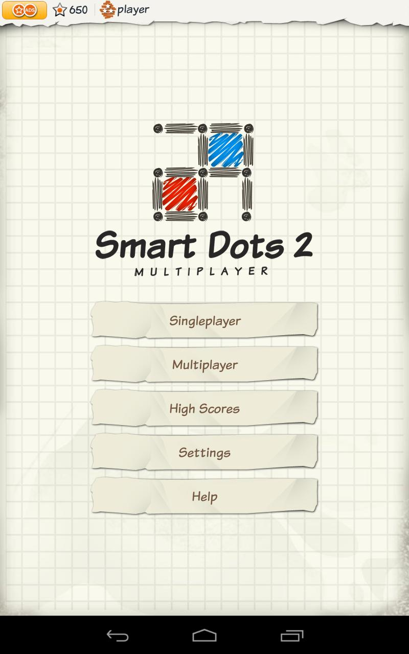 Скриншот Smart Dots & Boxes Multiplayer