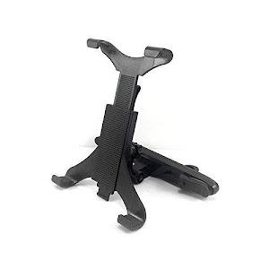 Suport tableta 7-10 inch pentru tetiera, Rotire 360, Negru