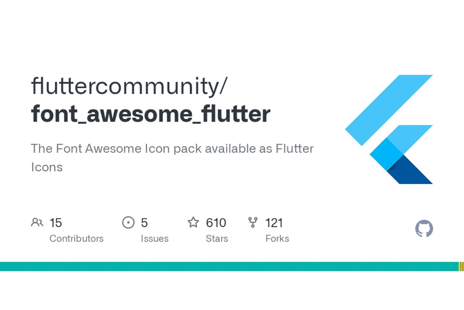 Font awesome Flutter UI Libraries