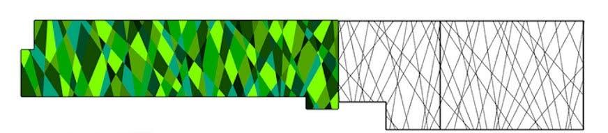 Diseño del jardín vertical del hotel HM Tropical de Mallorca