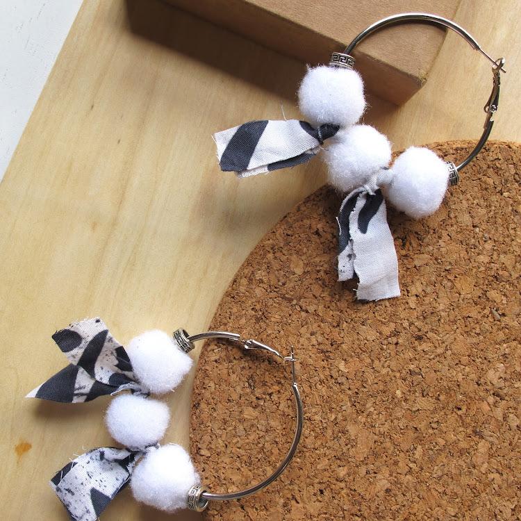 Boho Hoop Earrings #Siberia