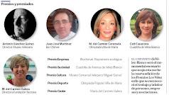 Vecinos, asociaciones y empresas galardonadas en los IV Premios Los Vélez.
