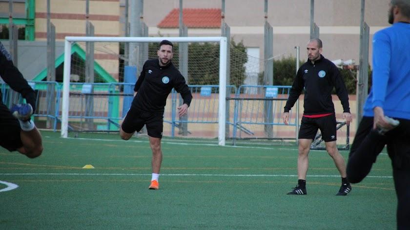 El nuevo jugador celeste ya entrena con el grupo.