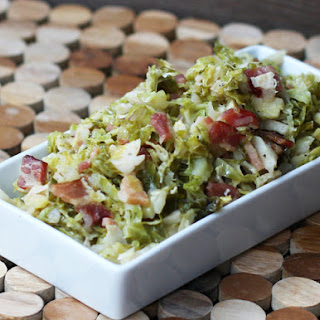 Quick Brussels Sprouts with Bacon
