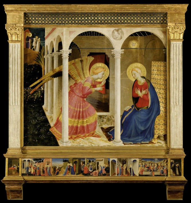 Article on Fra Angelico's Annunciation in Cortona