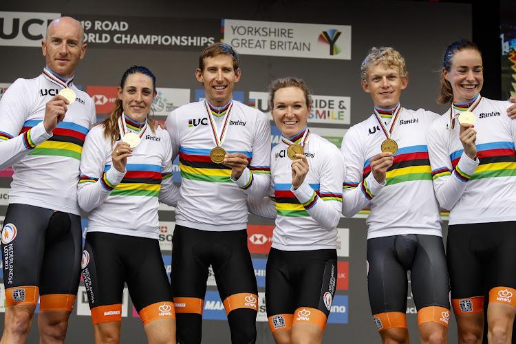 Opmerkelijk: winnaars gemengde ploegentijdrit verdienen meer dan winnaar wegrit