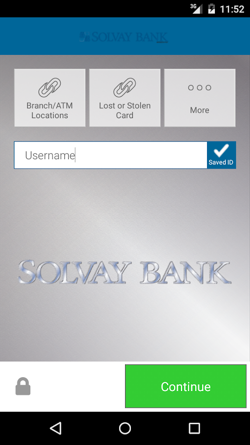 Solvay Bank- screenshot