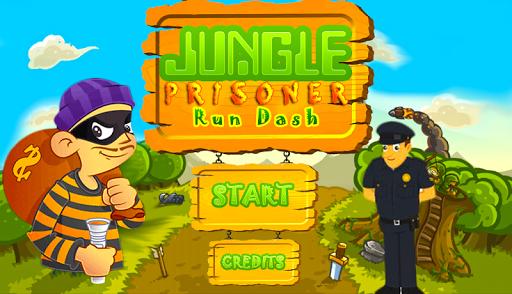 Jungle Prisoner Run Dash 3D
