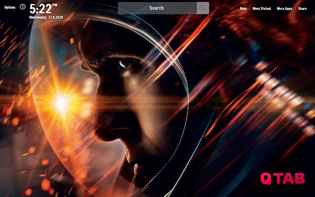 First Man New Tab First Man Wallpapers