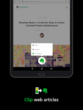 download evernote app for android