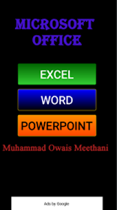 Learn MS Office (Word, Excel, P.Point) Full Course 1