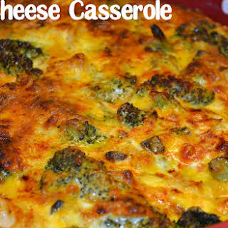 My Favorite Broccoli & Cheese Casserole.