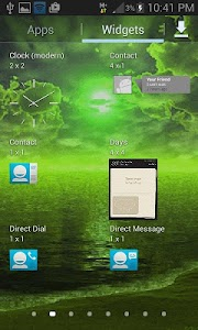 Green Weather Live Wallpaper screenshot 2